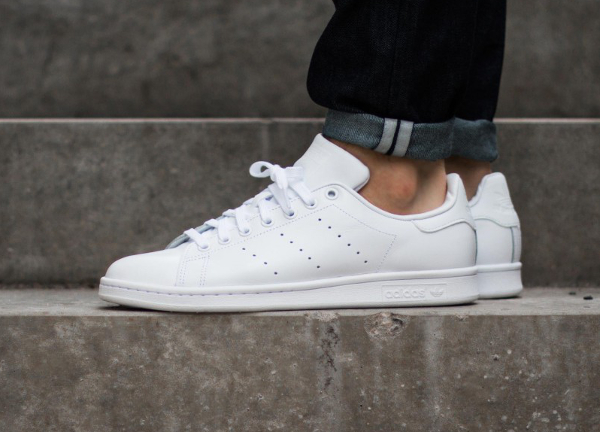 separation shoes 58007 e3be0 ... adidas stan smith toile homme